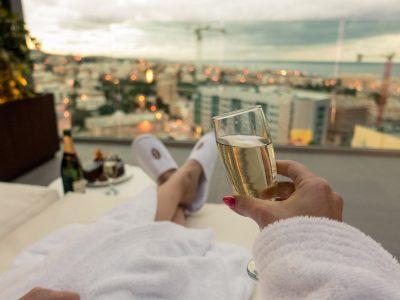 Champagne Intercontinental Hotel Malta Panoramic Suite