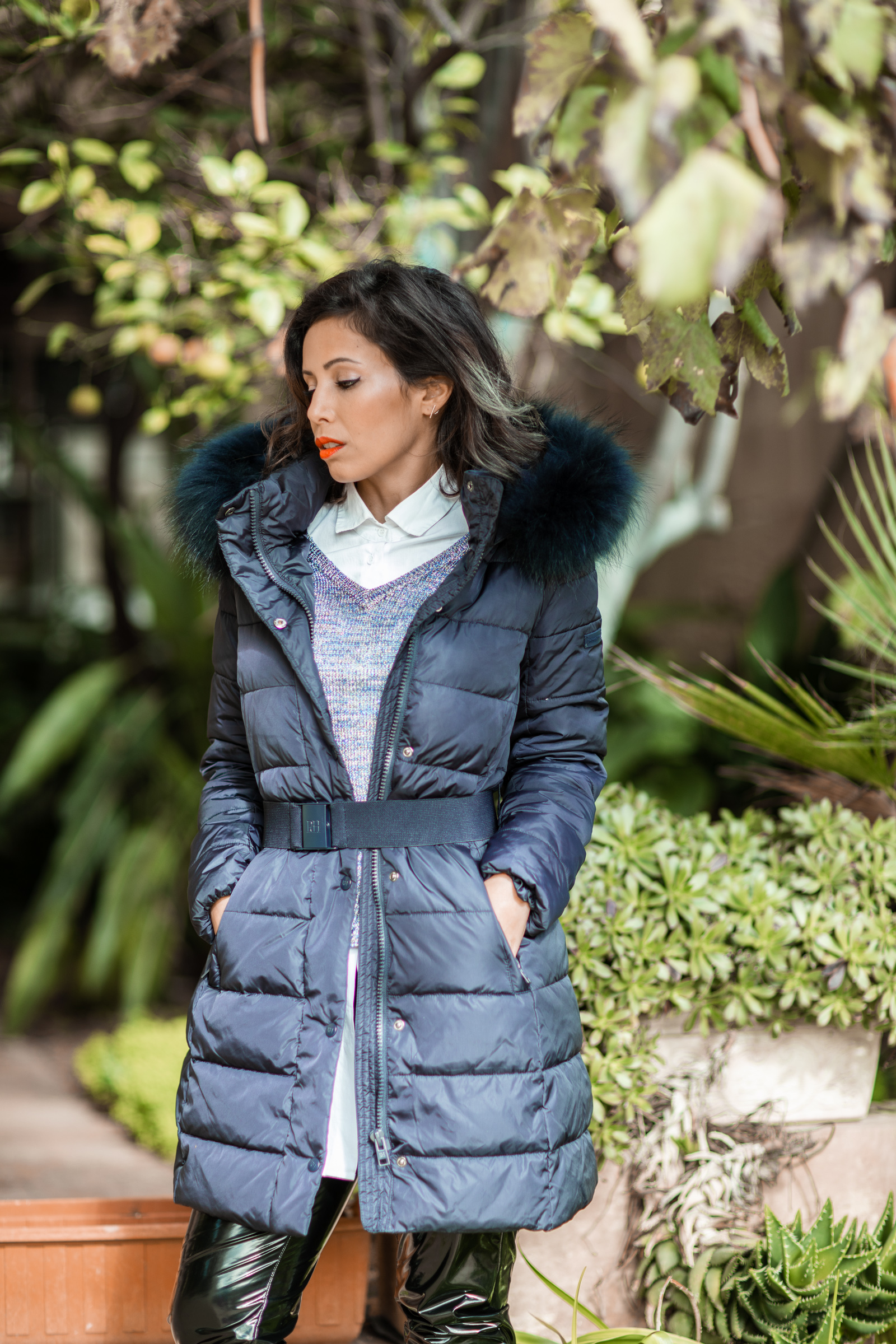 Caroline Paris The Puffa Jacket
